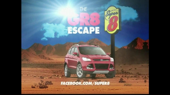Super 8 TV Spot For GR8 Escape Suped Up Sweepstakes