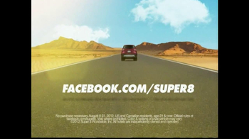 Super 8 TV Spot For GR8 Escape Suped Up Sweepstakes - Thumbnail 6