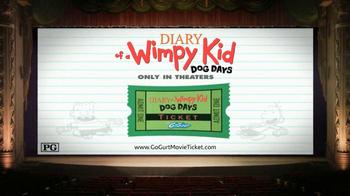 GoGurt TV Spot, 'Diary of a Wimpy Kid: Dog Days Contest' - Thumbnail 5
