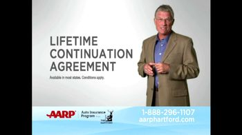 AARP Healthcare Options TV Spot For Lifetime Continuation Agreement