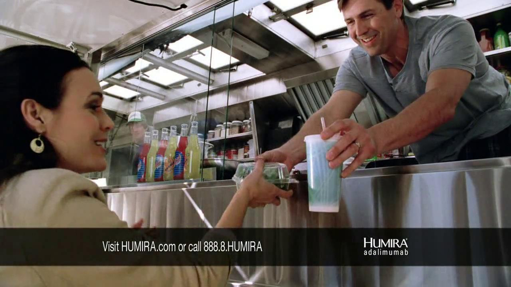 HUMIRA TV Commercial, 'Food Stand'