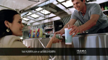 HUMIRA TV Spot, 'Food Stand' - 1351 commercial airings
