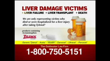 Goldwater Law Firm TV Spot For Liver Damage Victims