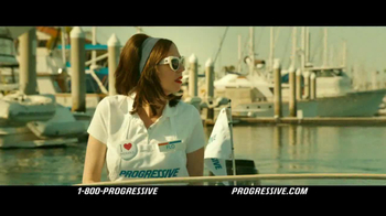 Progressive TV Spot For Flo Boat
