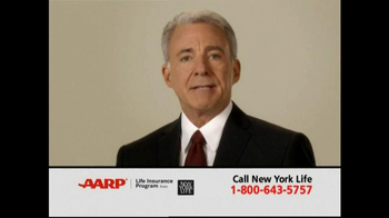 AARP TV Spot For Level Benefit Term Life Insurance - Thumbnail 1