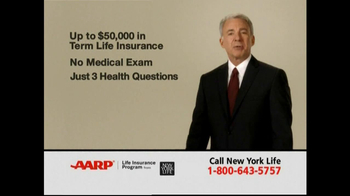 AARP TV Spot For Level Benefit Term Life Insurance - Thumbnail 2