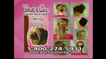 Twist N Clip TV Spot For Hair Clip - Thumbnail 10