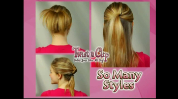 Twist N Clip TV Spot For Hair Clip - Thumbnail 6