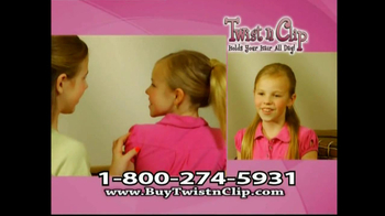 Twist N Clip TV Spot For Hair Clip - Thumbnail 7