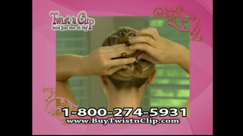 Twist N Clip TV Spot For Hair Clip - Thumbnail 8