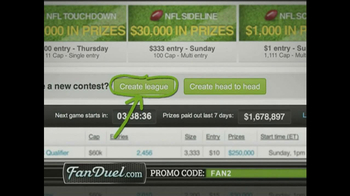 FanDuel Fantasy Football Daily Leagues TV Spot, 'Instant Payouts' - Thumbnail 5