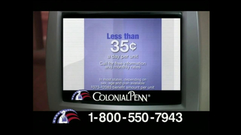 Colonial Penn TV Spot for Guaranteed Acceptance - Thumbnail 7