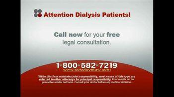 Sokolove Law, LLC TV Spot for Dialysis Patients