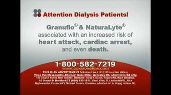 Sokolove Law, LLC TV Spot for Dialysis Patients - Thumbnail 4