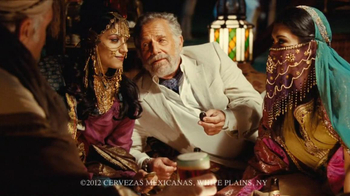 Dos Equis Amber TV Spot, 'Tent' - 5434 commercial airings