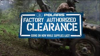 Polaris TV Spot For Factory Authorized Clearance - Thumbnail 1