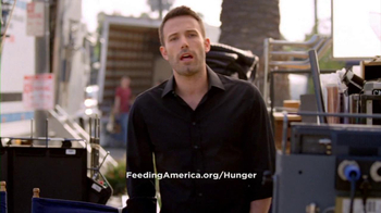 Feeding America TV Spot, 'Struggle With Hunger' Featuring Ben Affleck