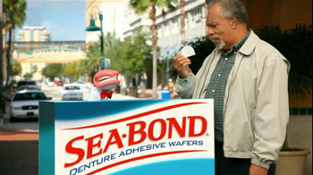 Sea Bond TV Spot For Sea Bond Adhesive Wafers - Thumbnail 7