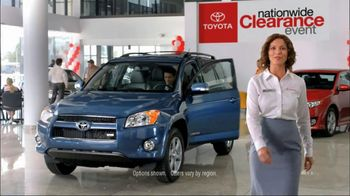 Toyota Nationwide Clearance Event TV Spot, 'Sienna, Venza and Highlander' - 61 commercial airings