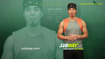 Subway Club TV Spot Featuring Apolo Ohno - 1 commercial airings