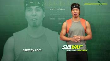 Subway Club TV Spot Featuring Apolo Ohno - Thumbnail 6