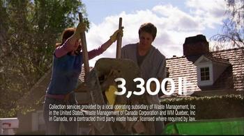 Waste Management TV Spot For Bagster Bag - Thumbnail 6