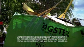 Waste Management TV Spot For Bagster Bag - Thumbnail 7