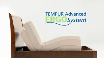 Tempur-Pedic TV Spot For Tempur-Pedic Advanced Ergo-System