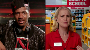Office Depot TV Spot, 'Feel the Power' Featuring Nick Cannon - Thumbnail 6