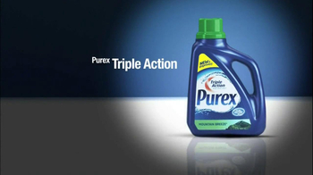 Purex TV Spot For New And Improved Purex Triple Action - Thumbnail 1
