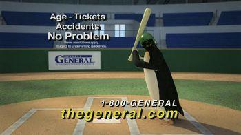 The General TV Spot, 'Baseball Penguin' - 1370 commercial airings