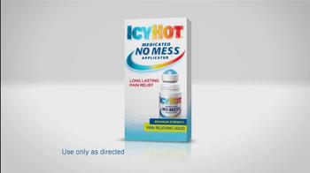 Icy Hot TV Spot For Medicated No Mess Applicator - Thumbnail 5