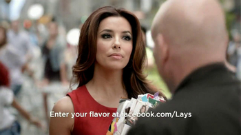 Lay's TV Spot, 'Do Us A Flavor' Featuring Eva Longoria