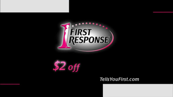 First Response TV Spot For Tells You First - Thumbnail 8