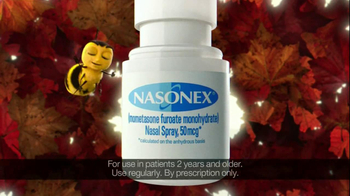 Nasonex TV Spot For Seasonal Allergies Featuring The Nasonex Bee