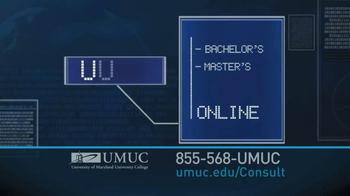 University of Maryland University College TV Spot For 50,000 Jobs - Thumbnail 3