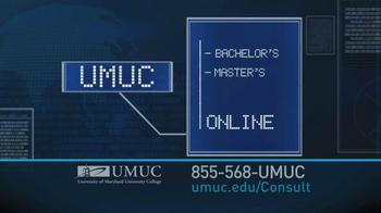 University of Maryland University College TV Spot For 50,000 Jobs - Thumbnail 4