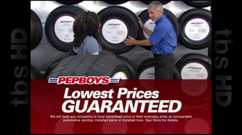 Pep Boys TV Spot For Summer Tire Thon