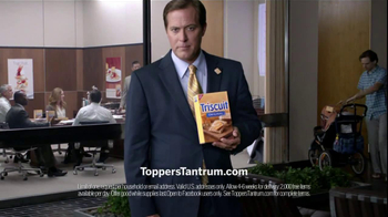 Triscuit TV Spot For Toppers Tantrum - 321 commercial airings