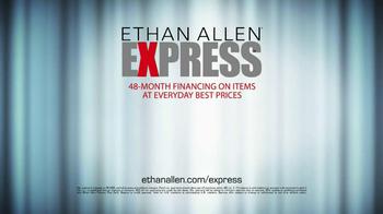 Ethan Allen TV Spot For Express - Thumbnail 6