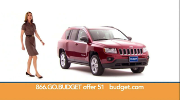 Budget Rent a Car TV Spot For SUV Featuring Wendie Malick - Thumbnail 5