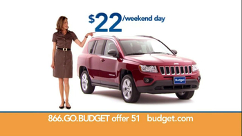 Budget Rent a Car TV Spot For SUV Featuring Wendie Malick - Thumbnail 6