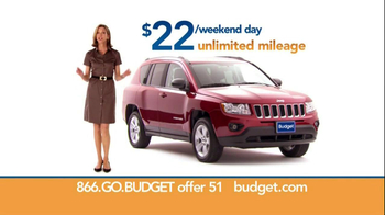 Budget Rent a Car TV Spot For SUV Featuring Wendie Malick - Thumbnail 7