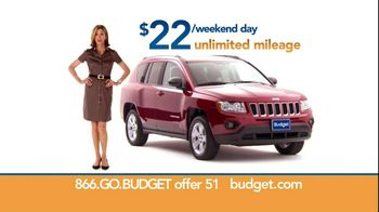Budget Rent a Car TV Spot For SUV Featuring Wendie Malick