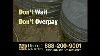 Discount Gold Brokers TV Spot For Buy Gold Now - Thumbnail 4