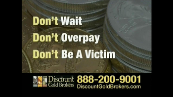 Discount Gold Brokers TV Spot For Buy Gold Now - Thumbnail 5