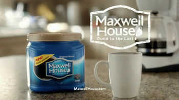 Maxwell House Flavor Lock Pack TV Spot, 'Loud Grinder' - Thumbnail 10