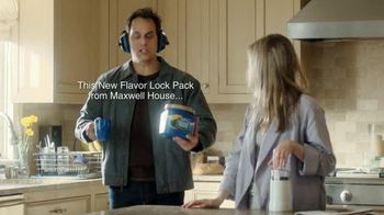 Maxwell House Flavor Lock Pack TV Spot, 'Loud Grinder' - Thumbnail 5