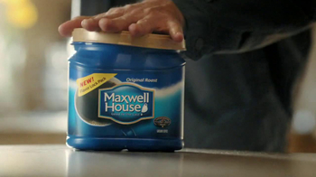 Maxwell House Flavor Lock Pack TV Spot, 'Loud Grinder' - Thumbnail 6