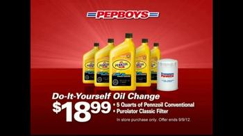 PepBoys TV Spot For Tires & Oil Changes - Thumbnail 3